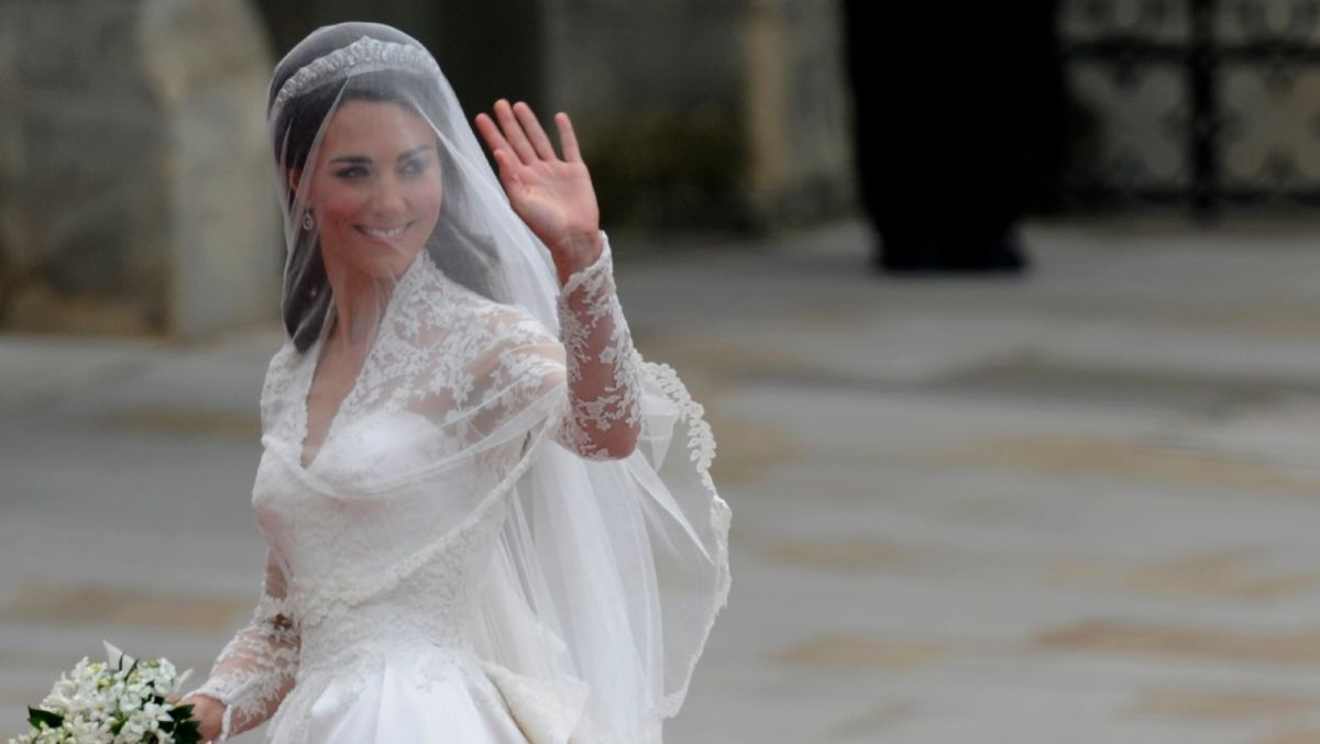 This royal wedding dress has been crowned most popular of last decade, and it's not Kate Middleton's