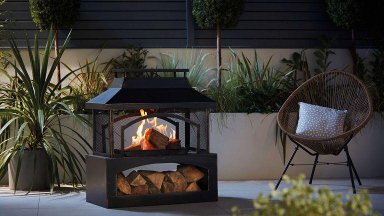 Aldi log burner