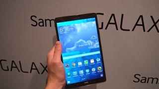 The Galaxy Tab S screen wows