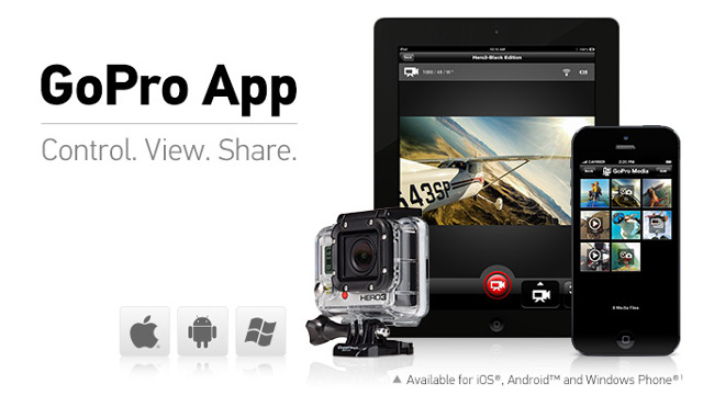 GoPro App update lets you quickly share your action shots via Wi-Fi ...