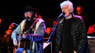 Neil Young and Graham Nash