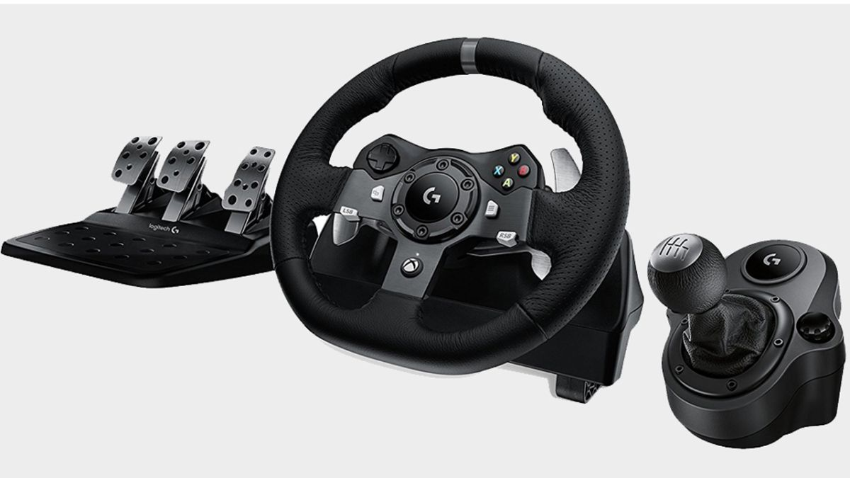 2659a38367e Logitech G920 Driving Force steering wheel review | GamesRadar+