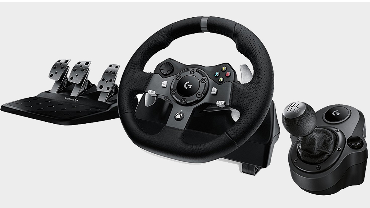 Logitech G920 Driving Force steering wheel review | GamesRadar+