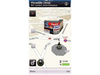 Ovi Maps - getting you to place for free