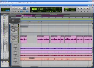 Pro Tools 8 sports a new user-interface