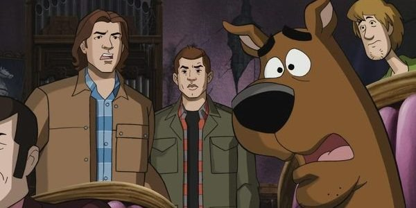 Supenatural's Sam Winchester and Dean Winchester meet Scooby-Doo
