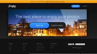 Snapjoy homepage