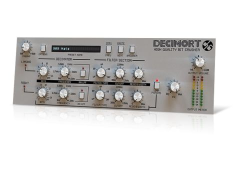 Decimort can give your sounds an authentically gritty tone.