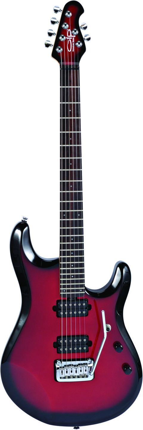 The OLP John Petrucci boasts a dazzlingly fast fingerboard