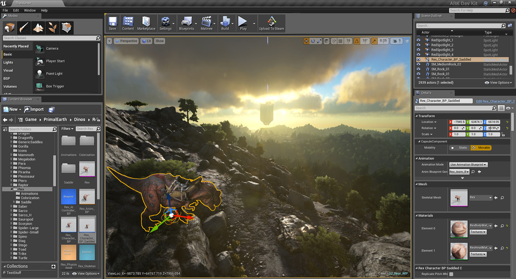 Ark survival evolved rolls out unreal engine 4 mod support pc gamer malvernweather Image collections