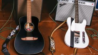 Fender Joe Strummer Campfire Acoustic and Custom Shop Esquire