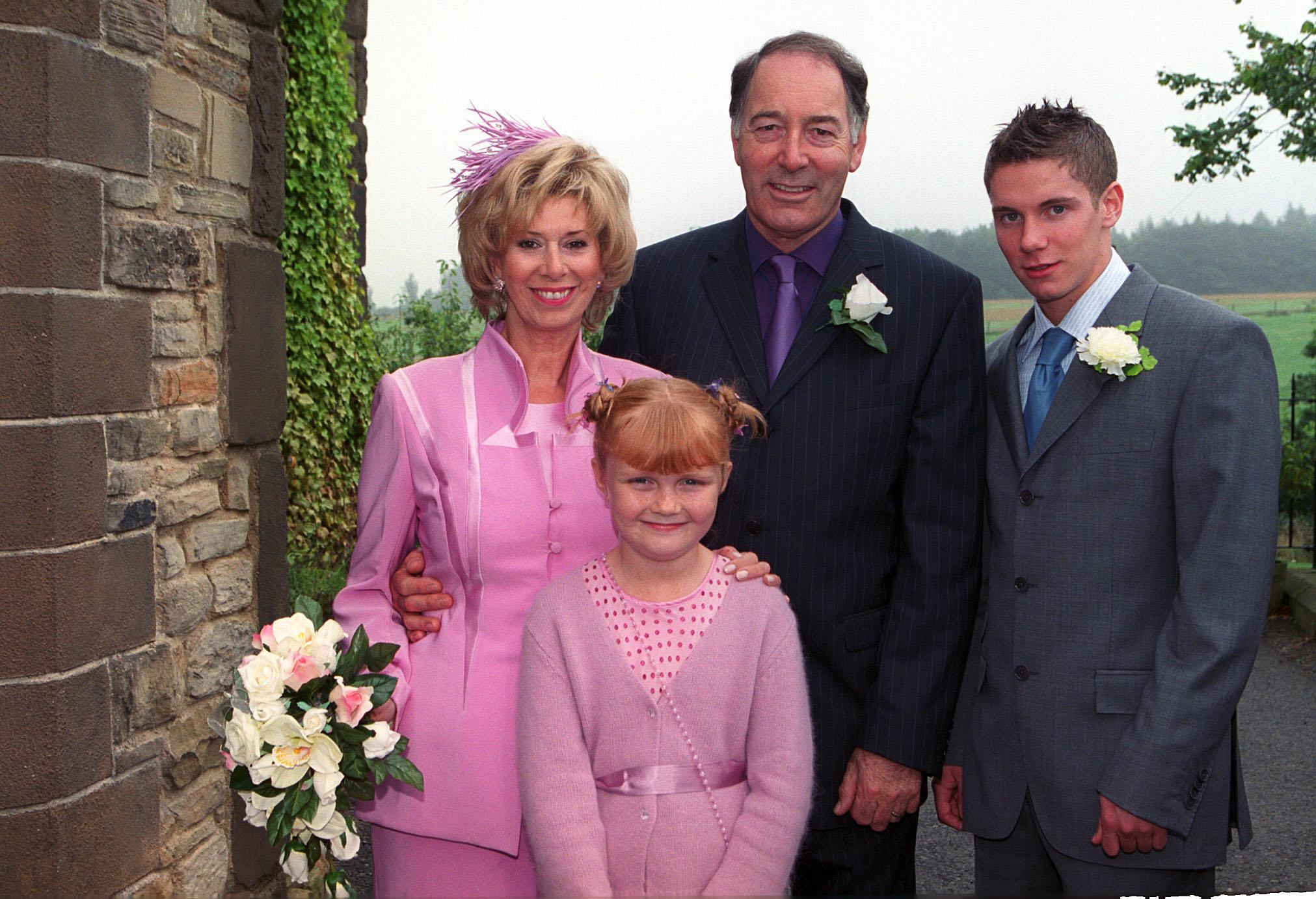Diane and Jack's wedding Emmerdale 2004