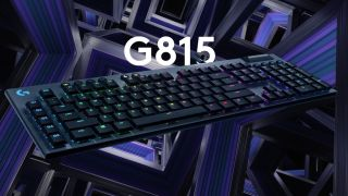 Save $70 on Logitech's 'impossibly thin' G815 mechanical keyboard