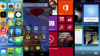 iOS7 vs Android Jelly Bean vs Windows Phone 8 vs BB10