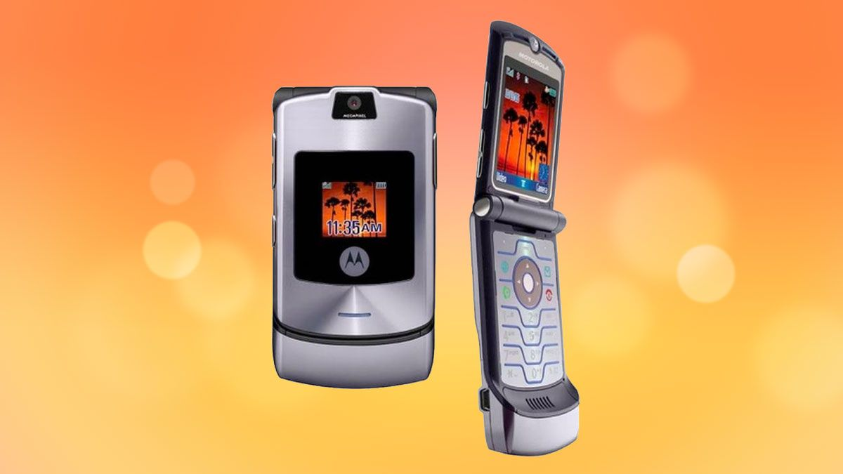 motorola razr v3 the greatest phone of all time techradar. Black Bedroom Furniture Sets. Home Design Ideas