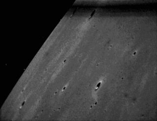LADEE Star Tracker Images of Lunar Terrain