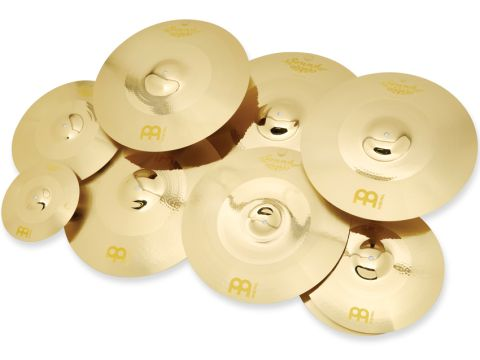 Soundcaster cymbals are all cut from rolled sheets of B12 bronze alloy