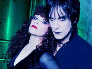 The Cramps' Poison Ivy and the late Lux Interior