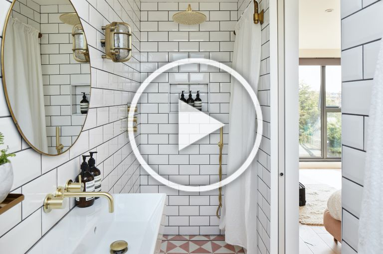 small bathroom ideas on this week's real homes show