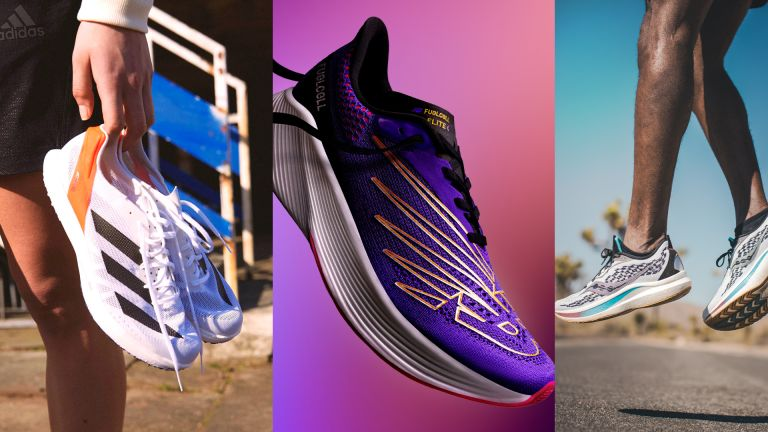 New running shoes June 2021 Adidas ADIZERO ADIOS PRO 2 New Balance Fuelcell RC Elite v2 Saucony Endorphin Speed 2