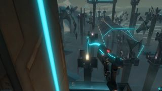 Tower Tag is an intense multiplayer VR game.