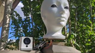 Halloween Mannequin Head - Raspberry Pi