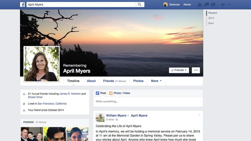 This is what happens to your social network accounts after you die