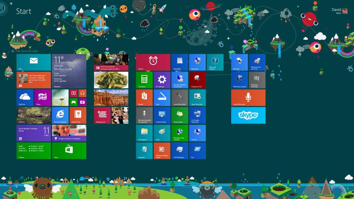 Leaked Windows 8 1 Update Brings Tweaked Tile