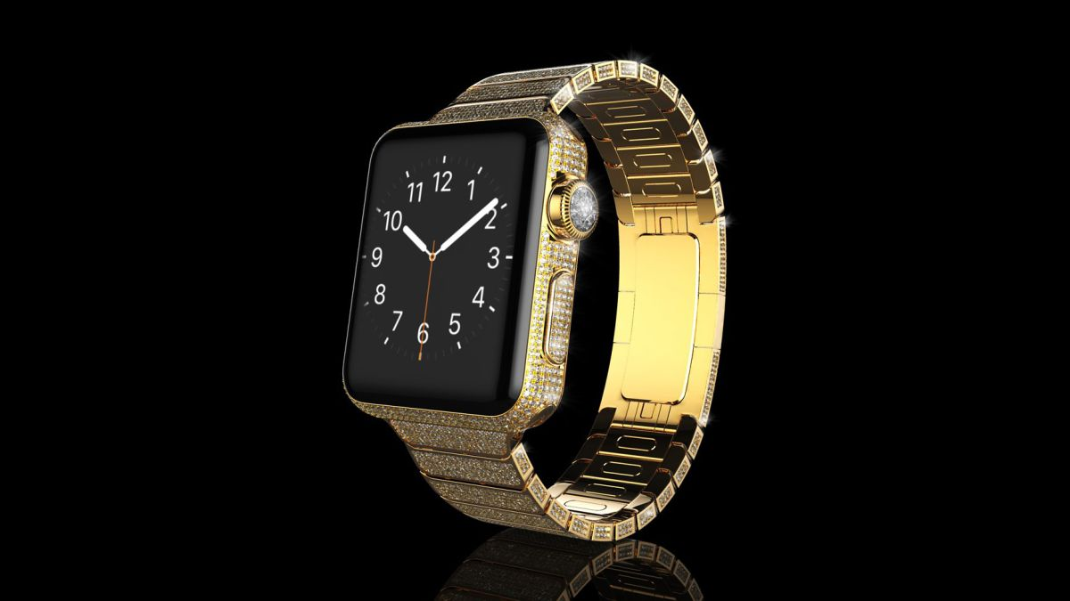 8K solid gold Apple Watch isn't bling