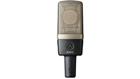 The stylish-looking microphone is constructed to AKG's usual high standard.