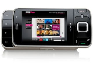 The Nokia N96 - comes with BBC iPlayer