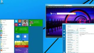 Windows 8 Start menu concept
