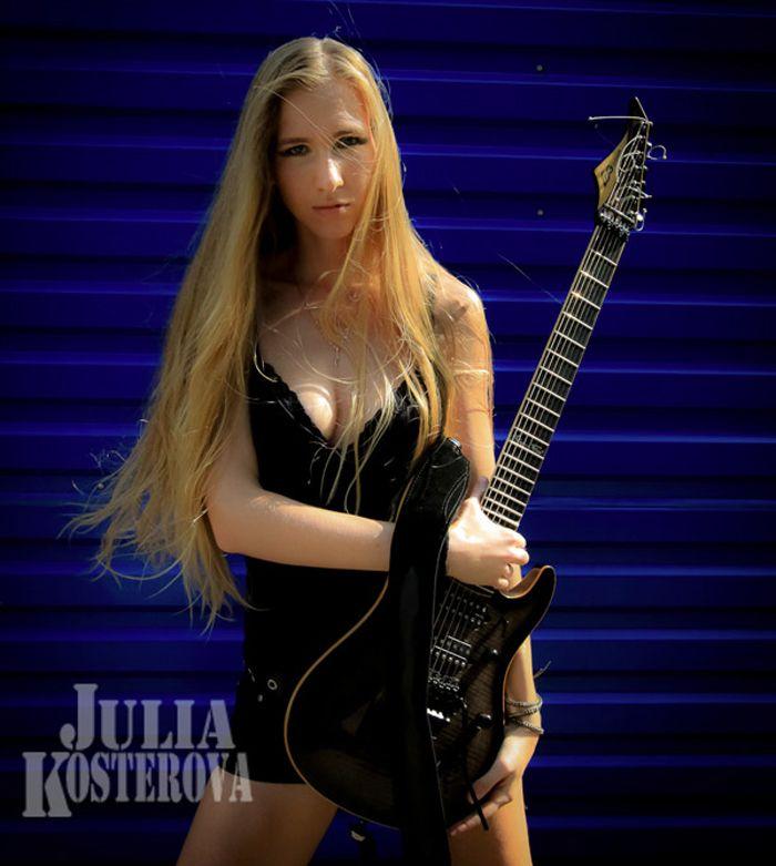 Pin on Female Guitarists Photoshoot