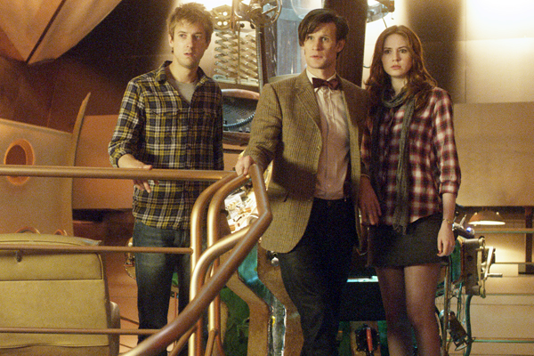 Doctor Who's Arthur: Rory's a proper companion now