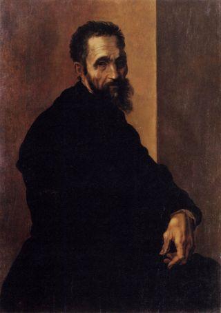 d Michelangelo by Jacopo del Conte