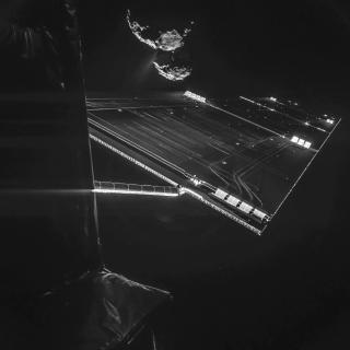 rosetta with comet