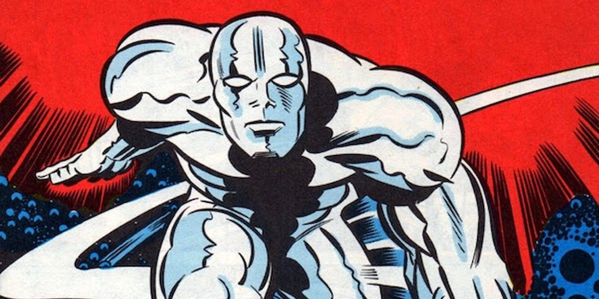 Marvel's cosmic space explorer, the Silver Surfer
