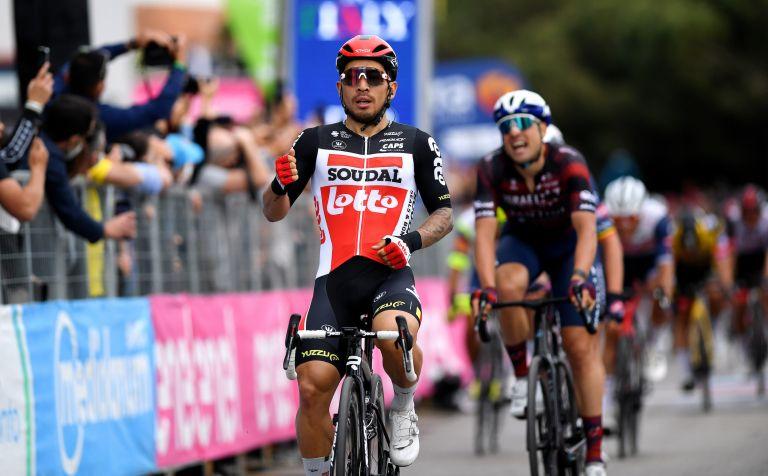 Caleb Ewan wins stage seven of the Giro d'Italia 2021