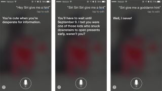 Siri iPhone 6S