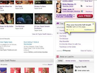 Yahoo Music arrives