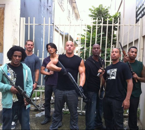 first look at the fast and furious 5 cast. Black Bedroom Furniture Sets. Home Design Ideas