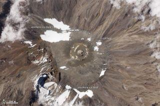 Kilimanjaro Ice Field