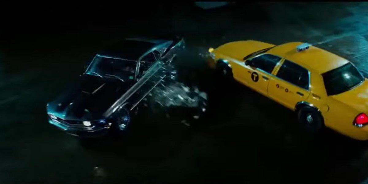 John Wick car gets hit