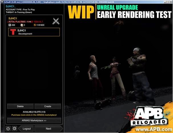 APB Reloaded Update Shows How It's Running In Newest Unreal