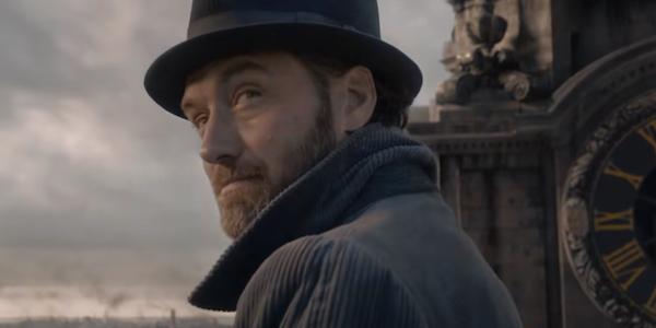 Jude Law is Albus Dumbledore