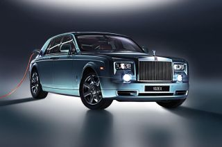 Rolls-Royce Phantom Electric experimental