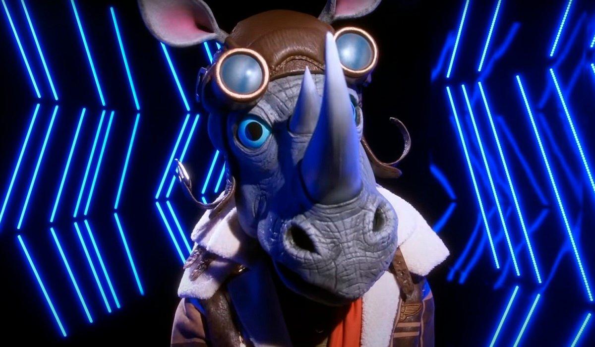 Rhino The Masked Singer Fox