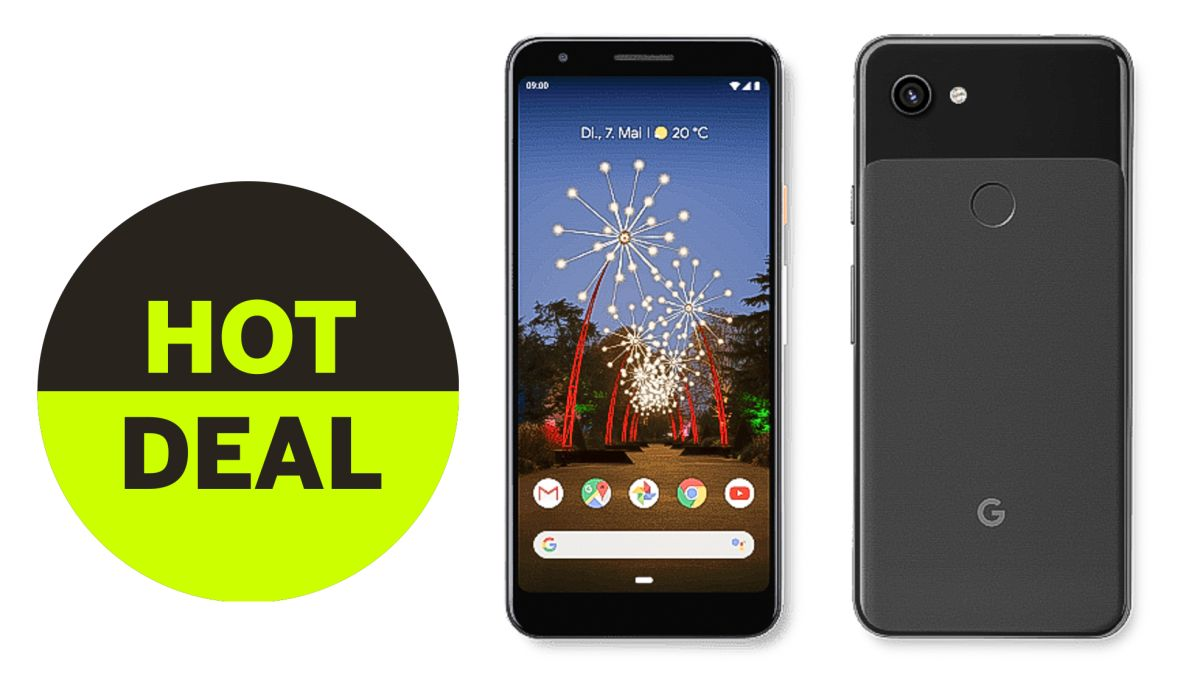 Great deal! Huge price drop on Google Pixel 3a camera phone