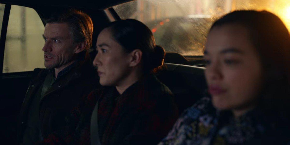 Midori Francis, Gideon Emery, and Jennifer Ikeda in Dash and Lily