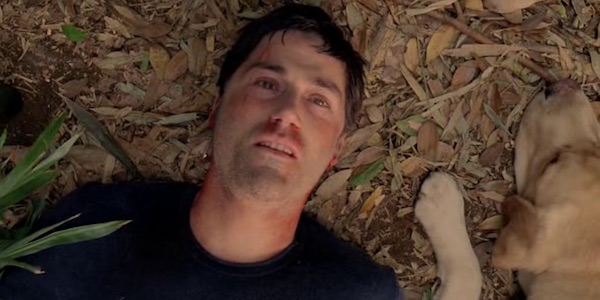 Jack in the final moments of Lost
